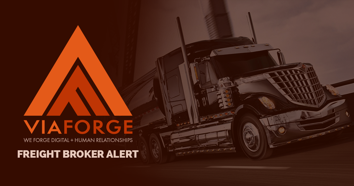 Freight Broker Alert | Web Design & Development | ViaForge