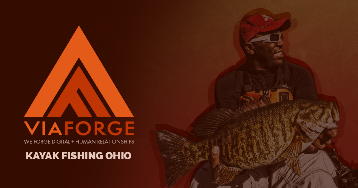 Kayak Fishing Ohio | Web Design & Development Columbus | ViaForge