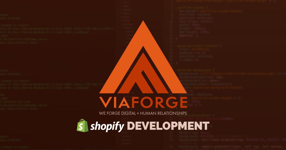 Columbus Shopify Design & eCommerce Developers | ViaForge