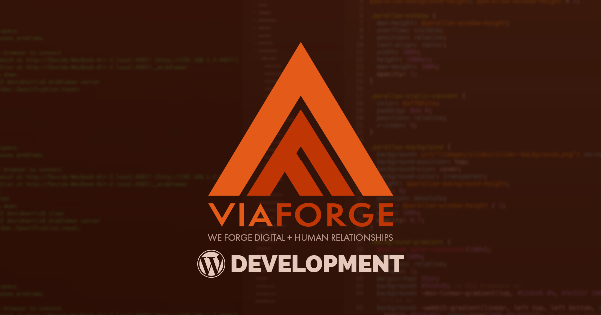 Columbus WordPress Company | A Web Design Company | ViaForge